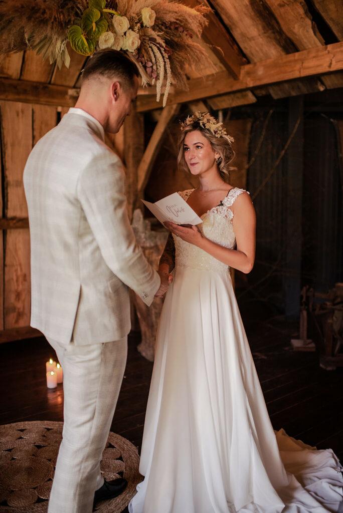 7 tips voor het schrijven van jullie trouwgelofte | Ceremonie vol Liefde